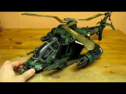 G I Joe Night Attack Chopper Youtube