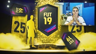 ME TOCAN MUCHOS IF!! | ABRIENDO 25 MEJORAS DE ORO EN FIFA 19!!