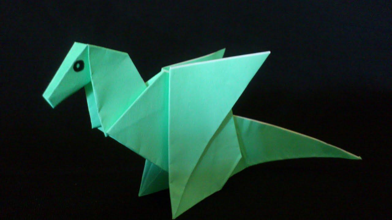Origami Naga - Cara Buat Naga Dari Kertas Origami - YouTube | 720x1280