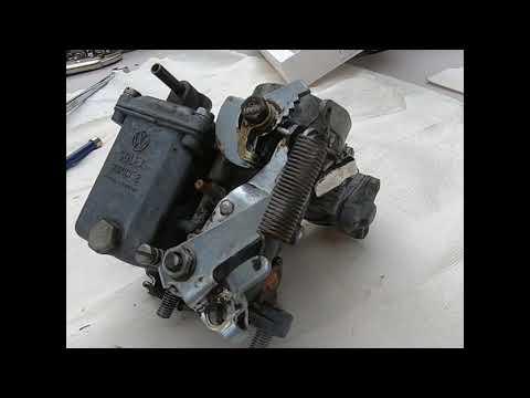 69 VW Bug Carburetor Removal & Rebuild