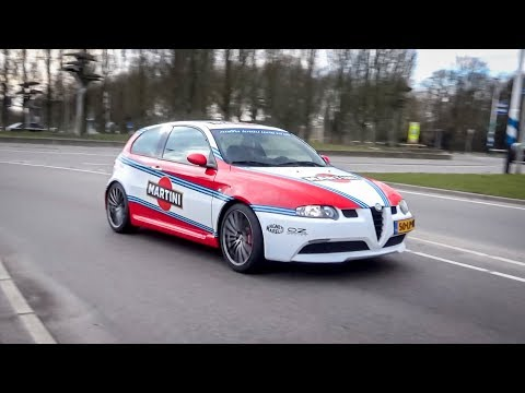 Best Alfa Romeo Sounds Compilation (8C, 4C, 147GTA, Giulia & Stelvio Quadrifoglio Etc.)