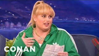 rebel wilson matt lucas are upsetting the neighbors   conan on tbs