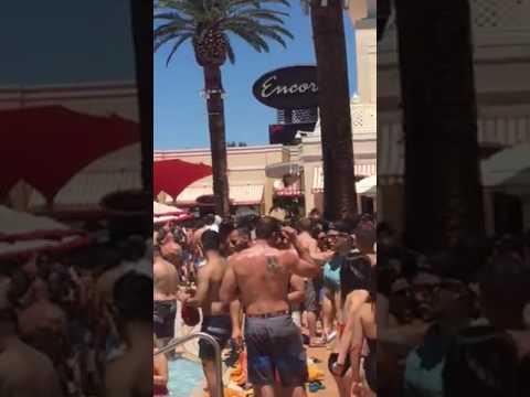 Encore pool party Las Vegas