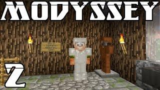 Minecraft Modyssey - Ep. 2 - Home Sweet Home
