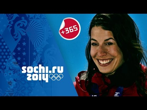 Dominique Gisin relives her Sochi Downhill Skiing Gold | #Sochi365