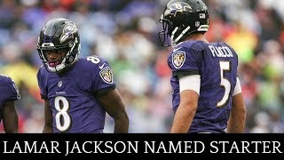 Lamar Jackson Named Starting QB | Joe Flacco Benched | What Does This Mean For Ravens? | Joe Noobo