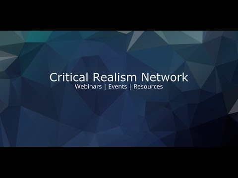 Critical Realism and the Academic Study of Religion   Professor Kevin Schilbrack Webinar