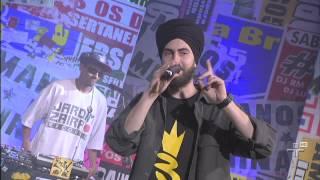 Triplex canta Desempregado - Manos e Minas