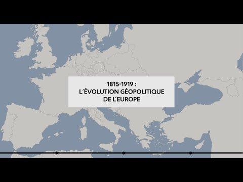 1815-1919 : L'évolution géopolitique de l'Europe