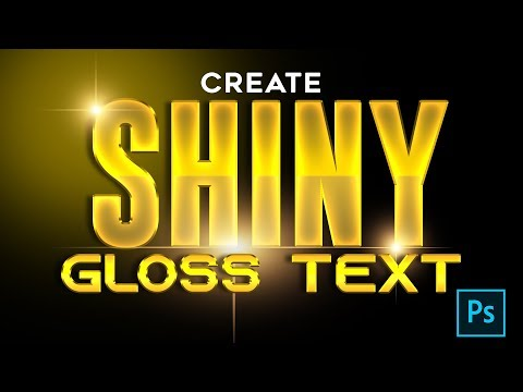 Golden_ Glossy_ Shiny_ Text - Photoshop Tutorial 2k20 thumbnail