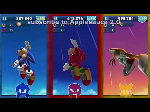 Sonic Dash VS: Team Sonic
