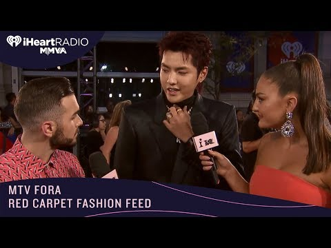 Kris Wu Stuns The iHeartRadioMMVAs With Blinged Out Look    FORA FASHION FEED