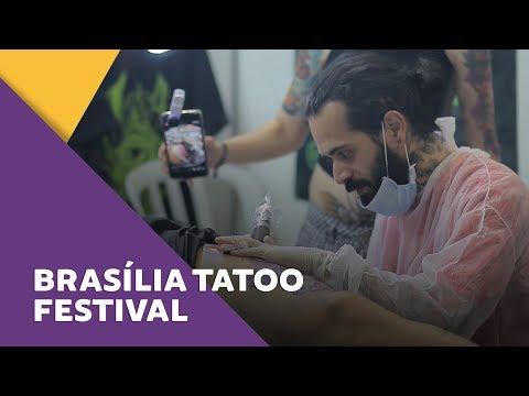 Arte na pele!  Brasília Tatoo Festival 2017!