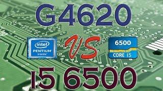 g4620 vs i5 6500 benchmarks gaming tests review and comparison kaby lake vs skylake