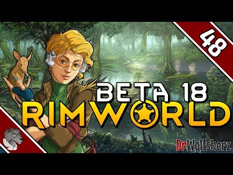 RimWorld (Beta 18) | #48 - Schleppende Bauarbeiten | Sumpf | Let's Play