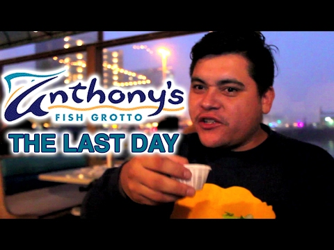 The Last Day at Anthony's Fish Grotto