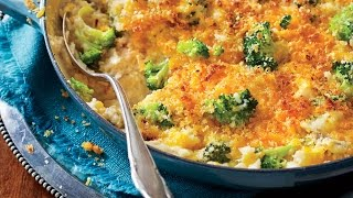 Cheesy Broccoli And Rice Casserole | Cooking Tutorial