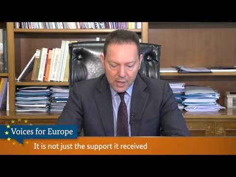 Voices for Europe: Yannis Stournaras, Minister of Finance, Greece
