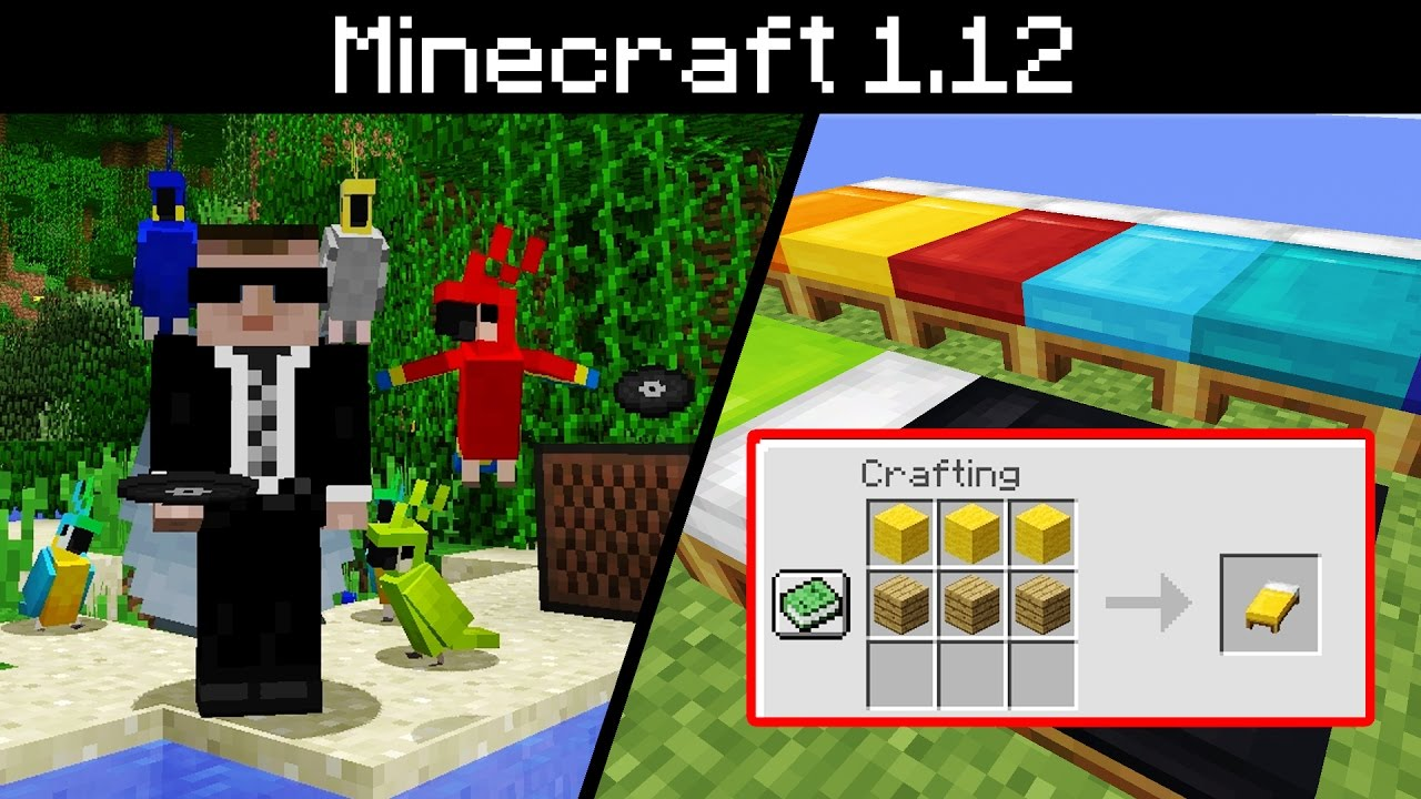 Minecraft How To Make Colored Beds