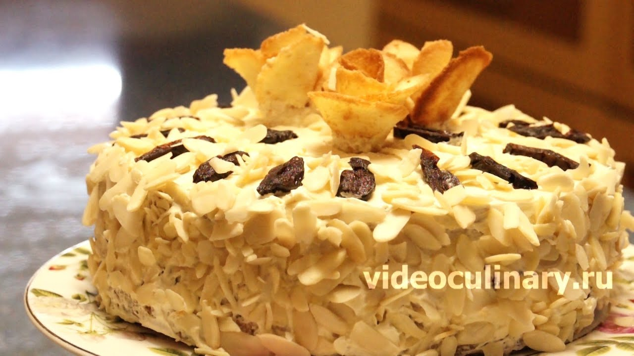 торт на сметане рецепт от бабушки эммы