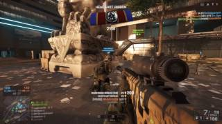 Playing Bf4 after a year (M98B sniper gameplay)