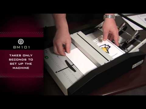 Martin Yale BM101 Automatic Booklet Maker Demo Video