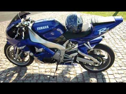 yamaha yzf r1 99 rn01 akrapovic cortado youtube. Black Bedroom Furniture Sets. Home Design Ideas