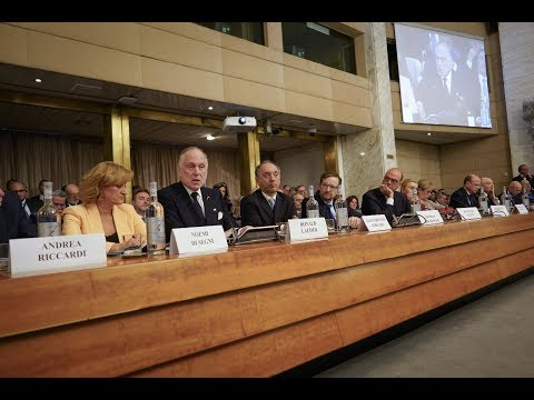 WJC President Ronald S. Lauder addresses Rome International Conference on Anti-Semitism