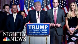Lawmakers: Classified Briefing About FBI Investigation Into Trump's 2016 Campaign   NBC Nightly News