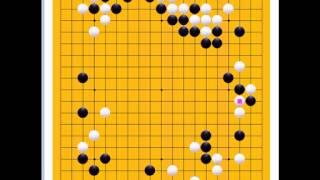 囲碁棋譜再現26局目 ●小川道的 ○本因坊道策 Go Game