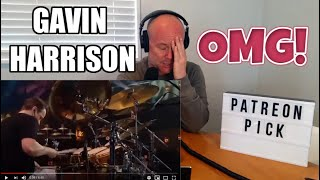 Drum Teacher Reacts: Gavin Harrison 'Anesthetize' (2020 Reaction)