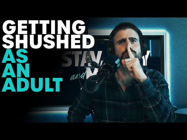 Are You Allowed To Shush An Adult!? | B105