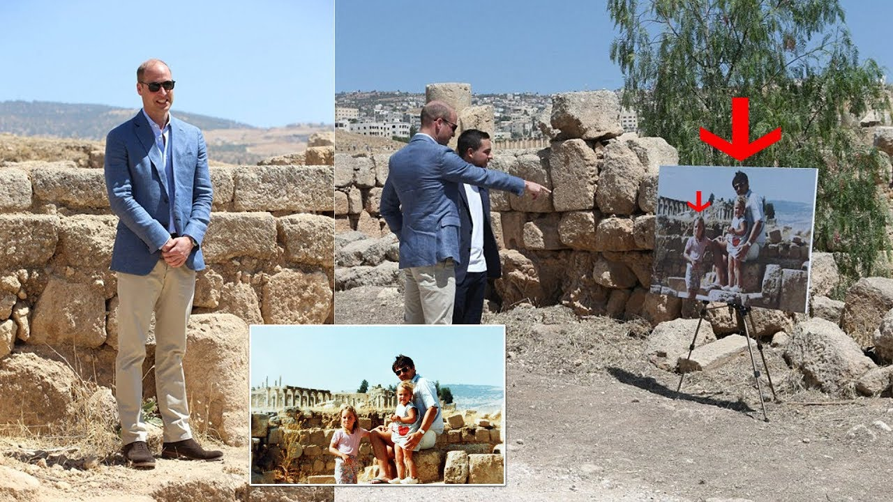 Prince William Recreates Kate's Childhood Photo In Jordan After Duchess Skips Trip