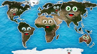 7 Continents Song/7 Continents for Kids /7 Continents