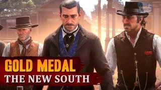 Red Dead Redemption 2 - Mission #26 - The New South [Gold Medal]