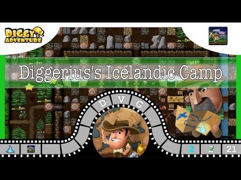 [~Scandinavia Father~] #21 Diggerius's Icelandic Camp - Diggy's Adventure