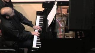 Alban Berg's Piano Sonata Op.1 performed by Vadim Serebryany of TRIO INK
