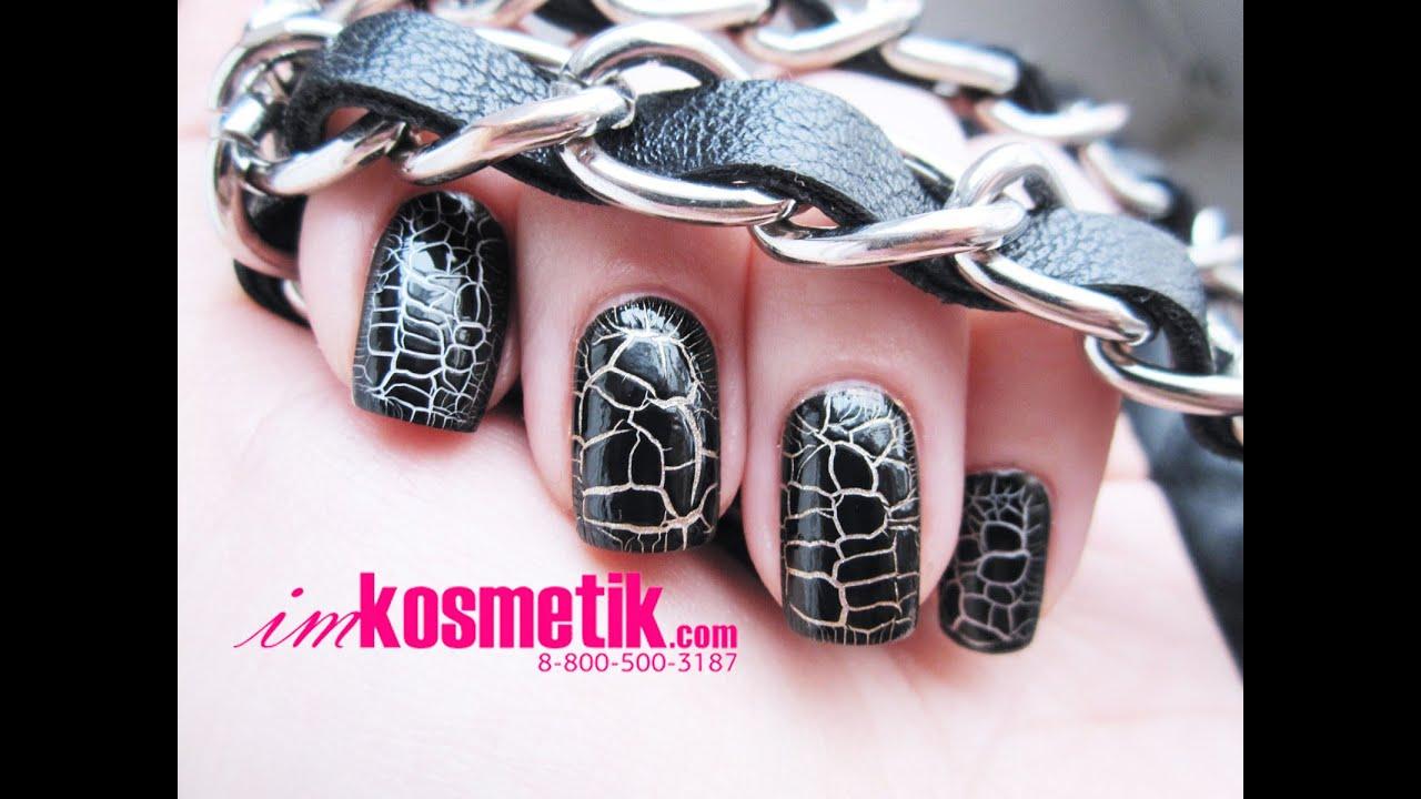 Гель-лаки TNL с эффектом кракелюра на ногтях. Как сделать эффект кракелюра на ногтях?