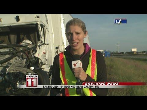 Injury Crash Closes I-94 Near Dalton, MN