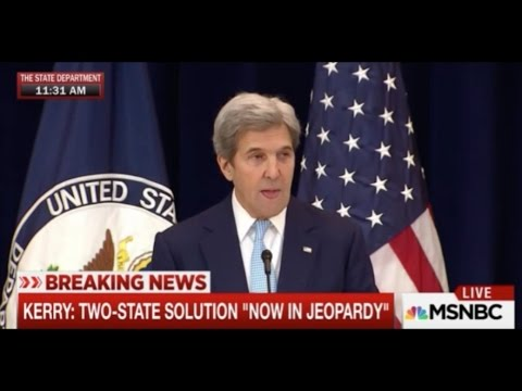 John Kerry to Israel: Pick Being Democrat or Jewish --- 'It Can't Be Both'