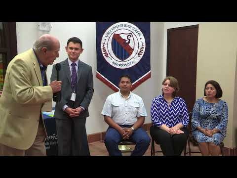 Brownsville Early College High School Volunteer Recognition