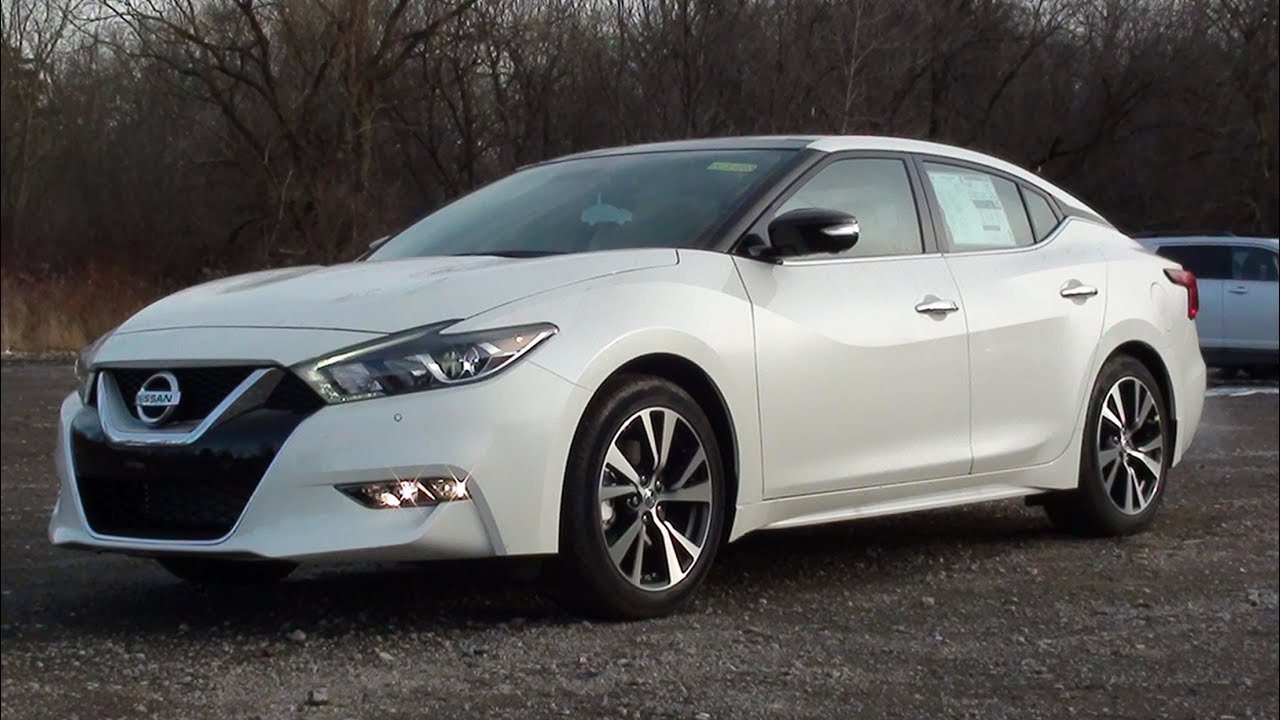 Mvs 2016 Nissan Maxima Platinum Youtube