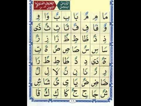 الدرس الخامس من القاعدة النورانية _ نور محمد حقانى