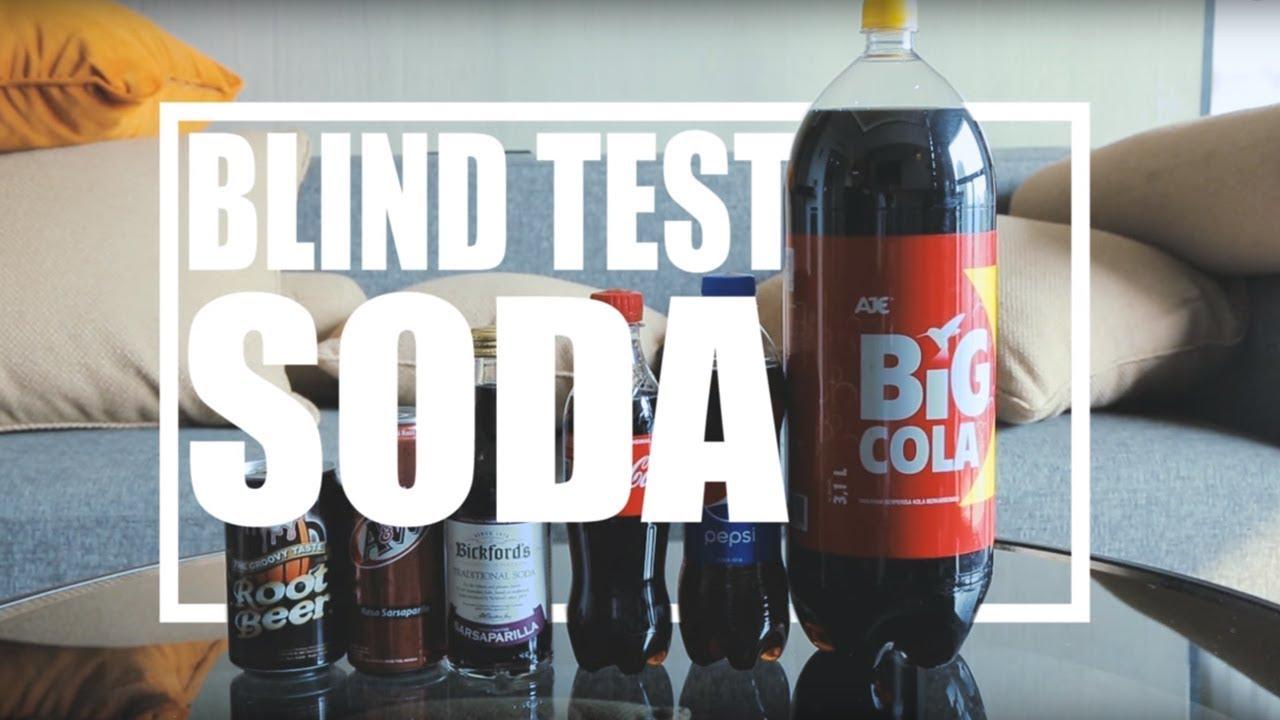 Blind Cola Taste Test with Alvin Pasaribu #GenerasiSoda