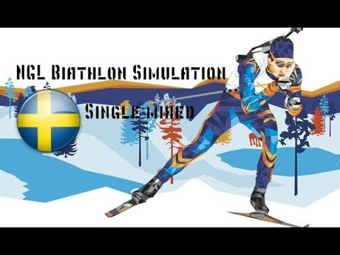 Кубок Мира в NGL Biathlon Simulation | Сингл Микст в Эстерсунде