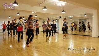Rivers of Babylon EZ Line Dance (Molly Yeoh) Demo l 라인댄스