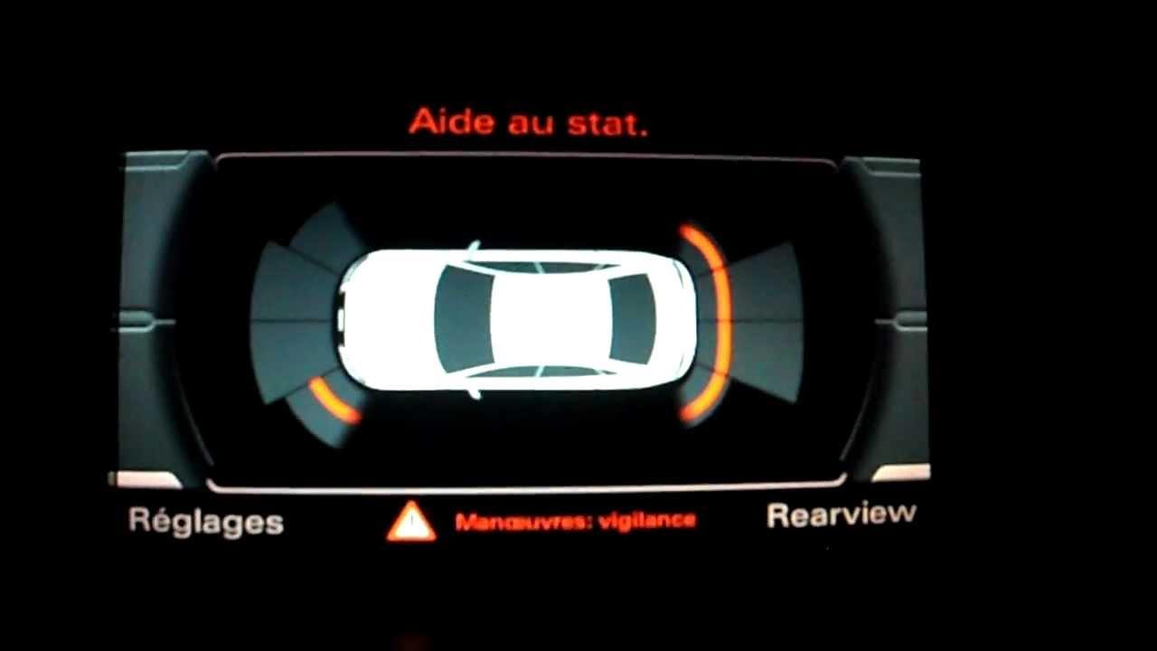 Audi A4 B8 8k Oem Rear Cam Retrofit Youtube