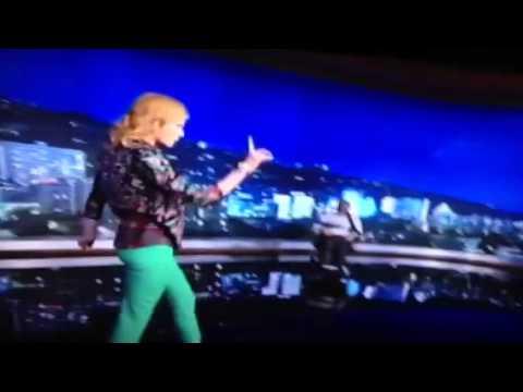 jimmy kimmel gets lap dance from nicole kidman youtube