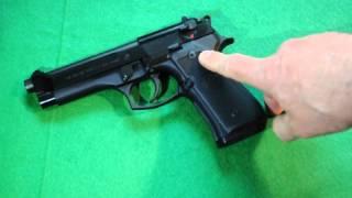 Beretta M9 pistol short review