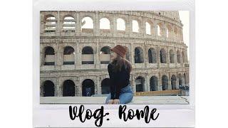 Vlog: Моё путешествие в Рим